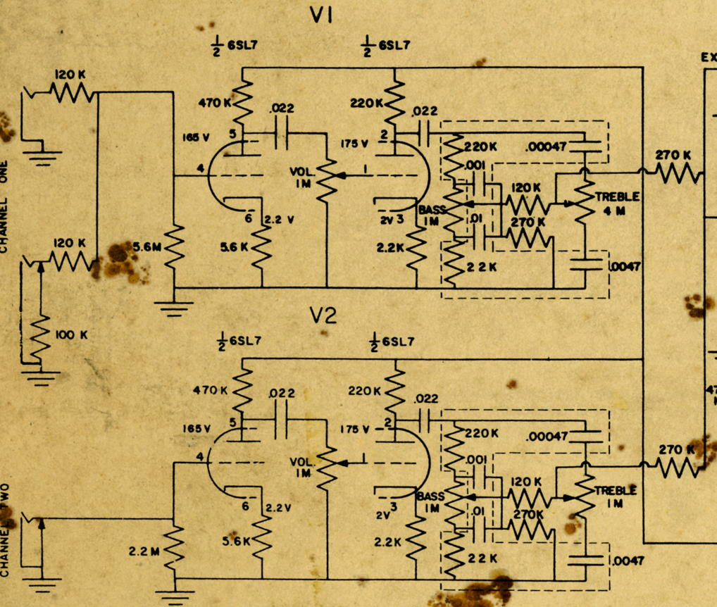 Vintage ampeg svt